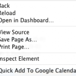 Inspect Element Safari 3.1