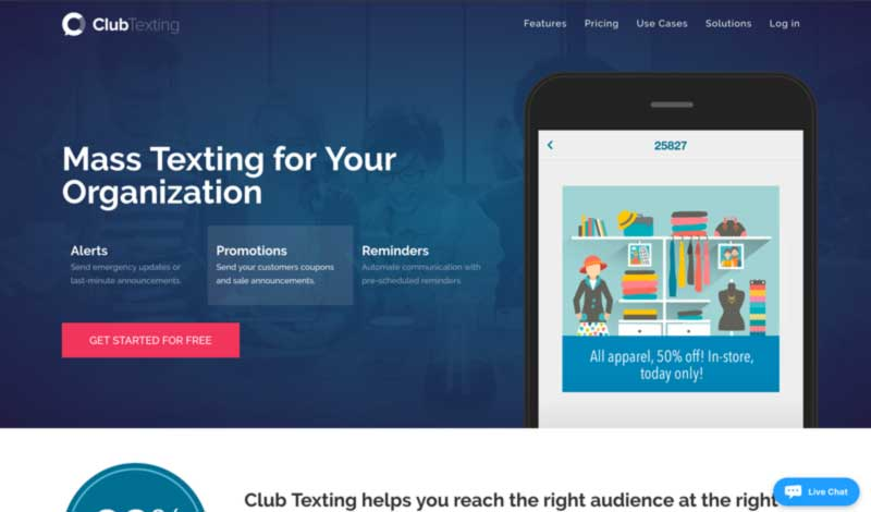 ClubTexting's Homepage