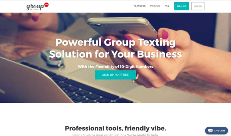 GroupTexting's Homepage